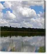 Florida Lake 1 Canvas Print