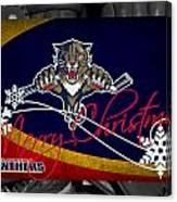 Florida Panthers Christmas Canvas Print