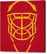Florida Panthers Goalie Mask Canvas Print