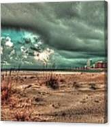 Florida Point Begining Of The Storm Canvas Print