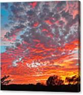 Florida Spring Sunset Canvas Print