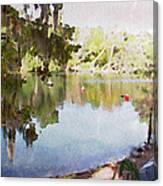 Florida Springs Waiting Canvas Print