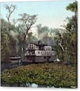 Florida Steamboat, C1902 Canvas Print