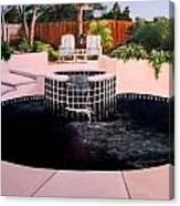 Florida Swimming Pool Canvas Print