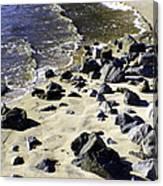 Florida Town Beach Canvas Print