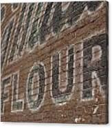 Flour Canvas Print