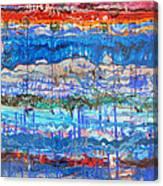 Flow Instability Canvas Print