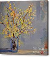 Flower Arrangement Exotic  Canvas Print