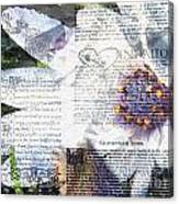 Flower Art Print 5 Canvas Print