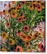 Flower Ballet Canvas Print