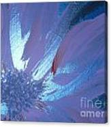 Flower Blue II Canvas Print