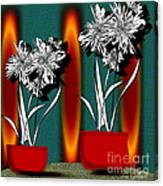 Flower Bowl 2 Canvas Print