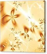 Flower Breeze Canvas Print