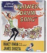 Flower Drum Song, Us Poster Art, Top Canvas Print