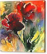 Flower Festival Canvas Print
