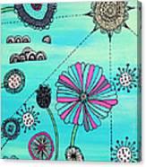 Flower Fever Canvas Print