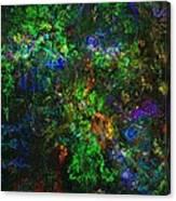 Flower Garden Gone Wild Canvas Print