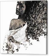 Flower Inside  Canvas Print