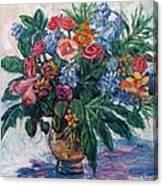 Flower Life Canvas Print