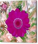 Flower Power 1439 Canvas Print