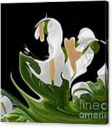 Flower Power Abstract Canvas Print