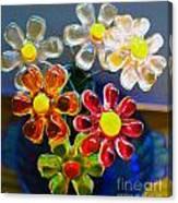 Flower Power Still Life Canvas Print