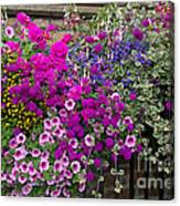 Flower Riot Canvas Print