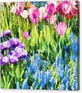 Flower Splash I Canvas Print