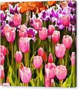 Flower Splash IIi Canvas Print