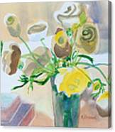 Flower Still Life          Canvas Print
