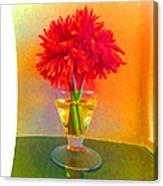 Flower Study #1 Canvas Print