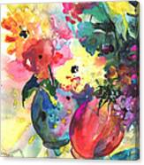 Flower Symphony 03 Canvas Print