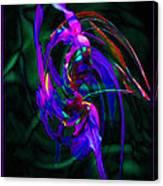 Flower Tango  Canvas Print