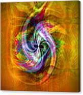 Flower Twist Canvas Print