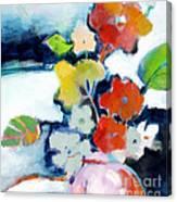 Flower Vase No.1 Canvas Print