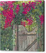 Flowering Gateway Canvas Print