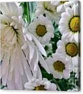 Flowering Together Canvas Print