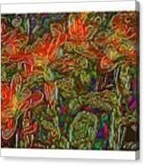 Flowers Btb-4 Canvas Print
