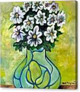 Flowers For Jenny Canvas Print
