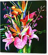 Flowers For You 1 Canvas Print