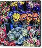 Flowers Galore Canvas Print