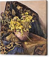 Flowers Immorteles Canvas Print