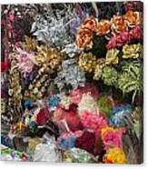 Flowers In Florist Canvas Print