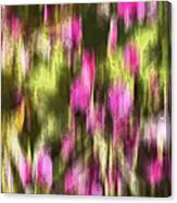 Flowers In Ink Canvas Print
