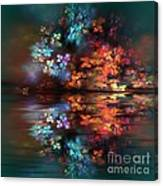 Flowers Of The Night Canvas Print