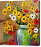 Flowers - Still Life Canvas Print
