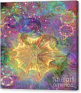 Flowerworks - Square Version Canvas Print