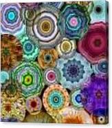 Flowery Meadow 3 Canvas Print