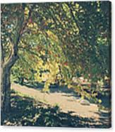 Flowing Golden Locks Canvas Print