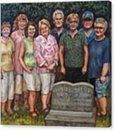 Floyd Family Cousin's Portrait Canvas Print